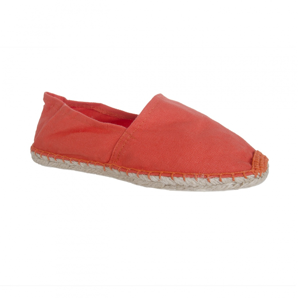 Espadrilles orange 44